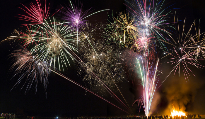 firework on Guy Fawkes Day